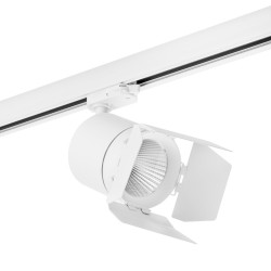 C156496 Трехфазный LED светильник 4000К 15W для трека Canno Lightstar (комплект из 301564+202996)